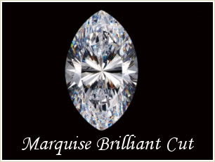 Marquise Brilliant Cut