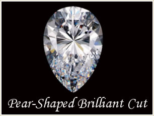 Pear Shaped Brilliant Cut