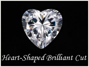 Heart-Shaped Brilliant Cut
